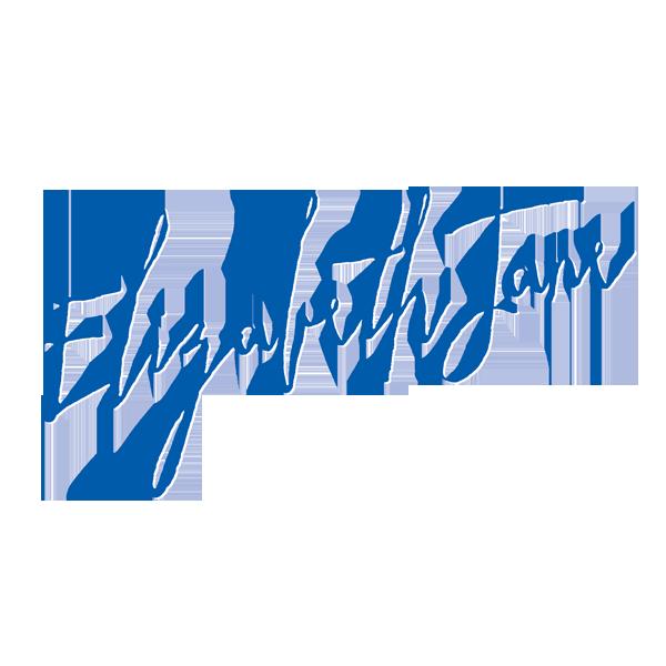 ElizabethJane_blue and whiteBOXLogo