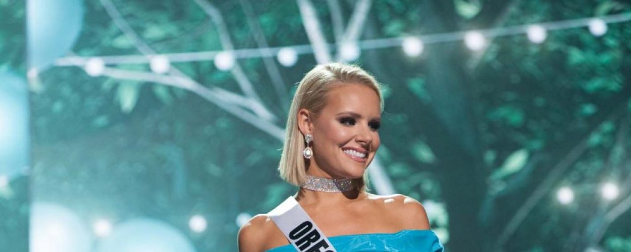 Denny dares to dream big at Miss USA pageant
